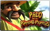 Click to play Paco & Popping Peppers Bonus Slot