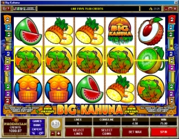 Big Kahuna Slot Game