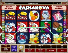 Cashanova Slot Game