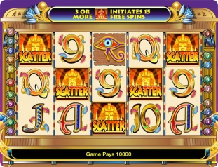 Click to Play Cleopatra Slot Game