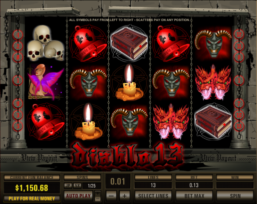 png of Diablo13 Progressive Slot Game