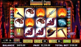 Diamond Cave Video Slots