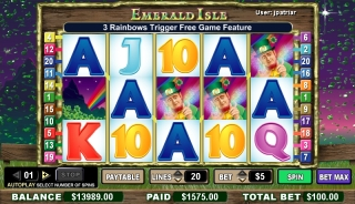 Emerald Isle Slot Game