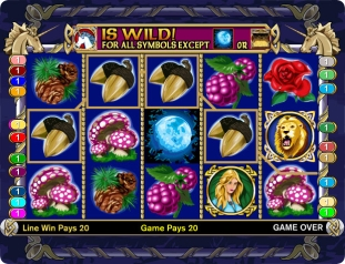 Click to Play Enchanted Unicorn Slot Game