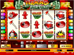 Flaming Fortune Slot Game