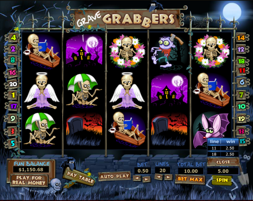 png of Grave Grabbers Slot Game