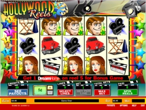 Click to Play Hollywood Reels Slot Game
