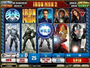 Click to Play Ironman 2 Slot