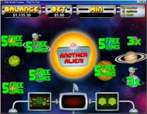 Click to Play Outta This World Bonus Slot Game