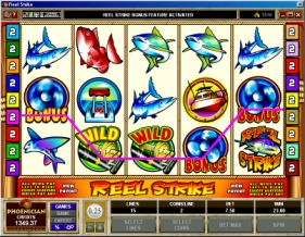 Reel Strike Bonus Slot