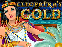 Click to play Cleopatras Gold Video Bonus Slots Game