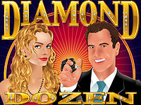 Click to play Diamond Dozen Real Series Bonus Slot