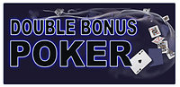 Click to play Double Bonus Poker Online