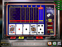 Click to play Double Jackpot Poker Online
