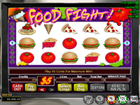 Click to play Food Fight Bonus Slot