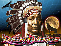 Click to play Rain Dance Real Series Bonus Slot