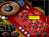 Click to play American Roulette Online