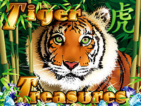 Click to play Tiger Treasures Real Series Bonus Slot
