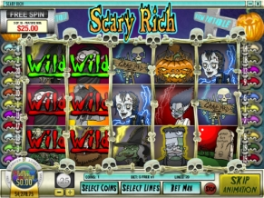 Scary Rich Slot Bonus Round