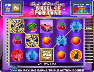 Click to Play Wheel of Fortune Slot Game